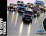 ORIGINAL ITEM & BEAUTIFUL 1982 CHEVROLET TRUCK DEALERSHIP FULL COLOR SALES BROCHURE For S-10, Blazer, Suburban, Pickup, El Camino. Luv, Van, Sport Van, Diesels