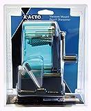 X-ACTO 1178 Bulldog Vacuum Mount Manual Pencil Sharpener, Assorted Colors