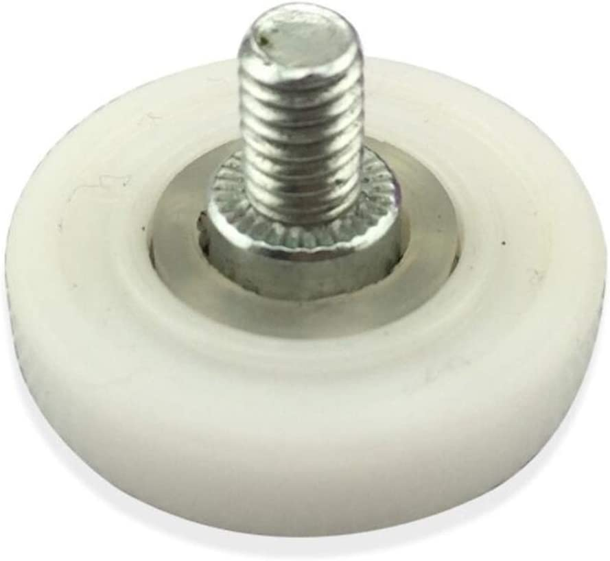 DDOQ Creative - Ruedas para mampara de ducha (8 unidades, 19 mm, acero inoxidable): Amazon.es: Hogar