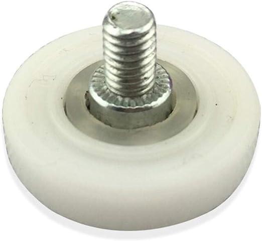 DDOQ Creative - Ruedas para mampara de ducha (8 unidades, 19 mm ...