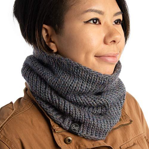 (Buff Unisex Outdoor Knitted And Polar Fleece Neckwarmer, Lile Denim, OS)
