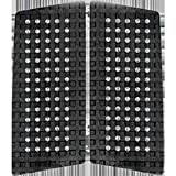 Astrodeck 409 Black Front Foot Gridlock Traction Pad