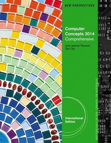 New Perspectives on Computer Concepts 2014: Comprehensive International Edition pdf