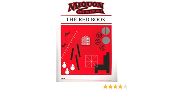 The Red Book (Miquon Math Materials Series: Complete Home School ...