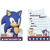 Invitaciones Sonic The Hedgehod