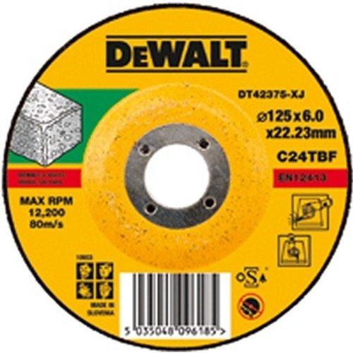 Dewalt DT42275 Grinding Disc T27 Abrasive Stone 115 mm x 6 mm x 22.2 mm