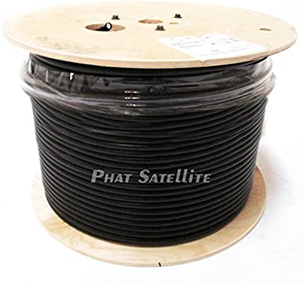 Cable coaxial para puerta de entrada y salón RG11, núcleo de 14 ...