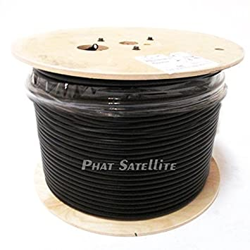 1000ft RG11 INDOOR/OUTDOOR COAXIAL CABLE 14AWG CORE - SIGNAL TRANSMISSION, CABLE TV,