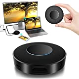 WiFi Display Dongle, Elegant Choise WiFi Wireless with Light Effect HDMI 1080P Full HD + AV Dual Output Display Receiver Support DLNA Airplay Miracast for iPhone/iOS /Android