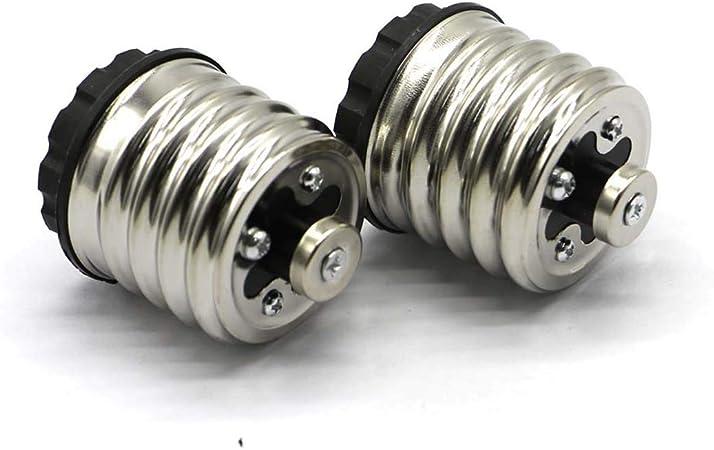 Lheng E27 Socket Adapter,5 in 1 Moving-Head Bulb Adapter Holder E27 Screw Base Lamp Socket Splitter,E27 TO 5E27