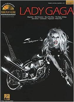 Book Piano Play-Along Volume 119: Lady Gaga (Hal Leonard Piano Play-Along)