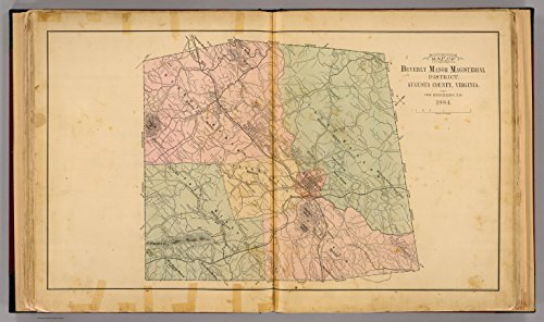 Beverly Manor - Map Poster - Beverly Manor Magist. Dist. 11