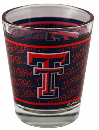 NCAA Texas Tech Red Raiders Shotglass Wrap