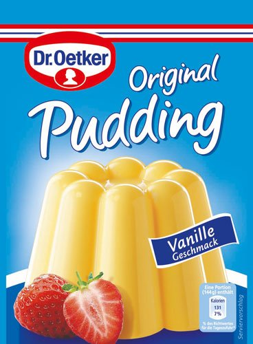 Dr. Oetker Original Pudding Mix, Vanilla - 3 pcs.