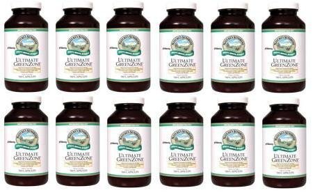 ULTIMATE GREENZONE CAPSULES Whole Food Dietary Supplement (Pack of 12) 180 Caps each ''FAST SHIPPING''