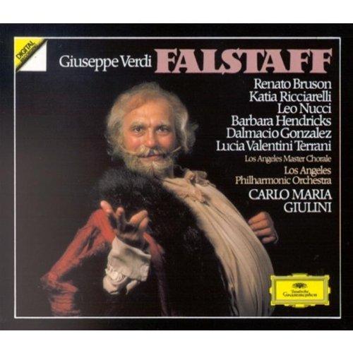Verdi - Falstaff / Bruson, Ricciarelli, Nucci, Hendricks, Gonzalez, Valentini-Terrani, Giulini