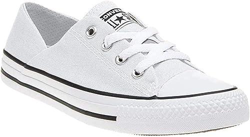 Vigilancia pedal escaldadura  Converse Tenis Blanco Tenis para Mujer Blanco Talla 24.5: Amazon.com.mx:  Ropa, Zapatos y Accesorios