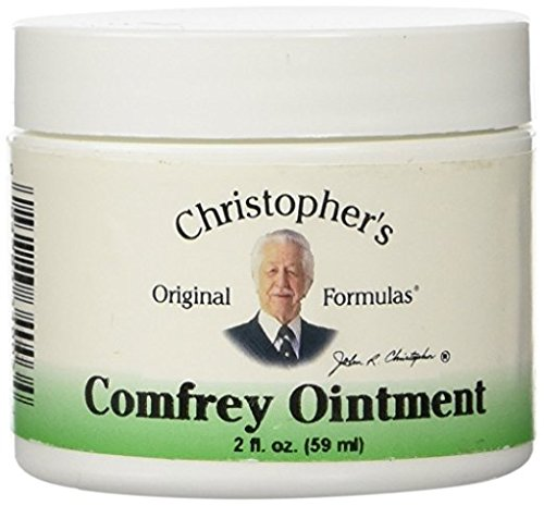 Christophers Comfrey Ointment (Dr. Christopher's Comfrey Ointment, 3Pack (2 Ounce ) JSR5gs)