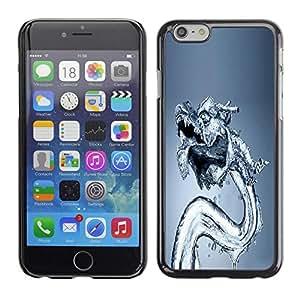 Be Good Phone Accessory // Dura Cáscara cubierta Protectora Caso Carcasa Funda de Protección para Apple Iphone 6 Plus 5.5 // Water Dragon