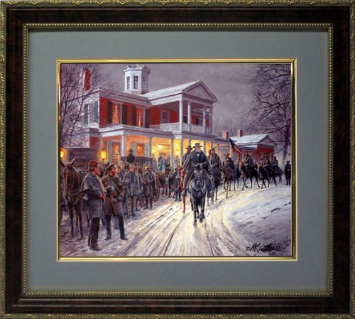 Mort Kunstler Art Framed Print Merry Christmas -