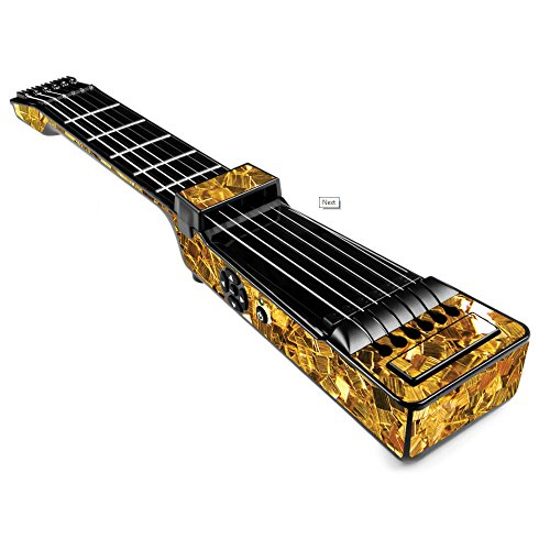 MightySkins Skin For Jamstik+ Portable SmartGuitar - Gold Chips | Protective, Durable, and Unique Vinyl Decal wrap cover | Easy To Apply, Remove, and Change Styles | Made in the USA by MightySkins