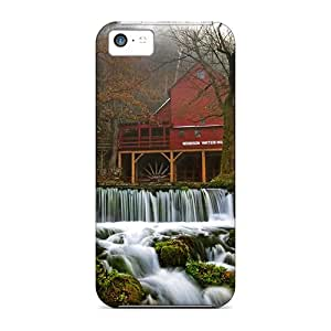 New Premium Casecover88 Watermill Skin Cases Covers Excellent Fitted For Iphone 5c
