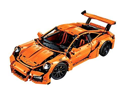 Juna Creation Technic Porsche 911 GT3 RS Racing Car Building Blocks