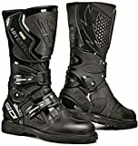 Sidi Adventure Gore Black Motorcycle Boots (Size EU 44)