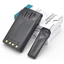 7.4V 1700Ah Li-ion + Belt Clip for Wouxun KG-UV6D KG-UVD1P KG-UV2D Handheld Two Way Radio