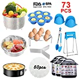 Book cover from Instant Pot Accessories Set, 73 PCS Instant Pot Accessories Compatible with 5,6,8Qt - 60 Pcs Parchment Papers, 2 Steamer Baskets, Non-stick Springform Pan, Egg Rack, Egg Bites Mold, Kitchen Tong, Dish by Rachel Collins