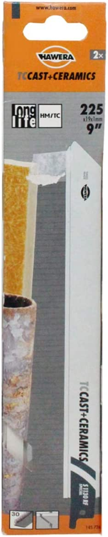 HAWERA Scie sabre Ceramics TC-Cast Ceramics t1130rf Grain 30/x 207/HM mm