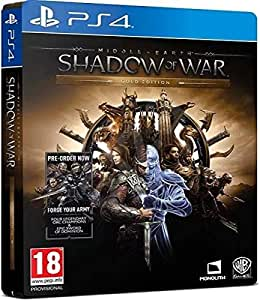 Middle-earth Shadow of War gold Edition PlayStation 4 by Warner Bros Interactive