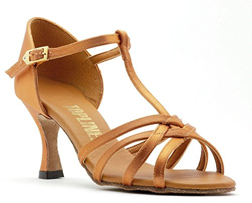 Latin Tan By Katz Topline Flare Or bar Black Anna 3