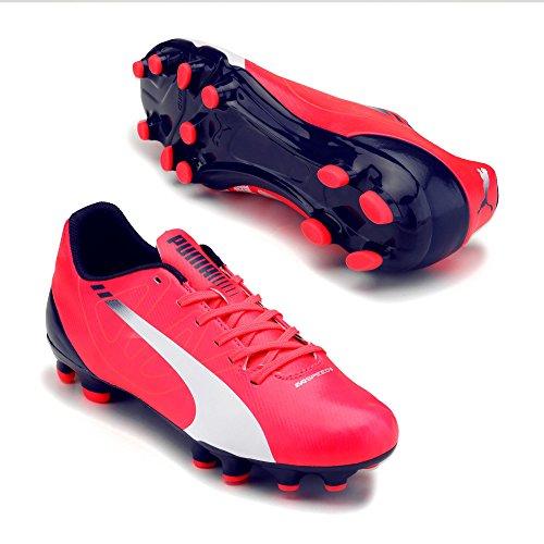 Puma evoSPEED 5.3 FG Fußballschuhe, rot - 11.5