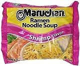 Maruchan Shrimp Flavor Ramen Instant Noodle Soup 3 oz - 24 Count