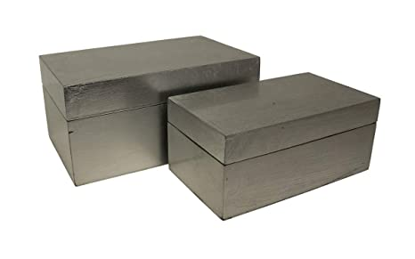 Amazon.com: De Cheung fp-4451 – 2sv Caja de madera Hojas, 2 ...