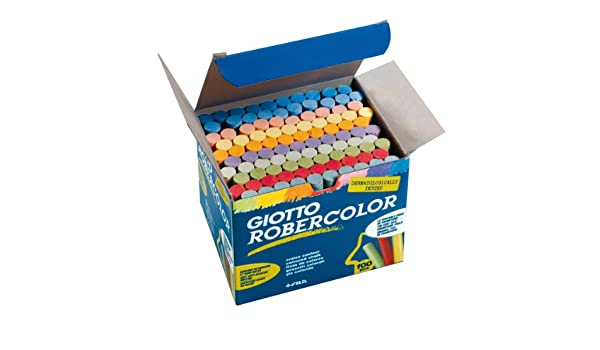 Amazon.com: Giotto 5390 00 – Robercolor Blackboard Chalk ...