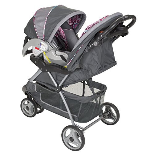 Baby Trend EZ Ride 5 Travel System, Paisley New
