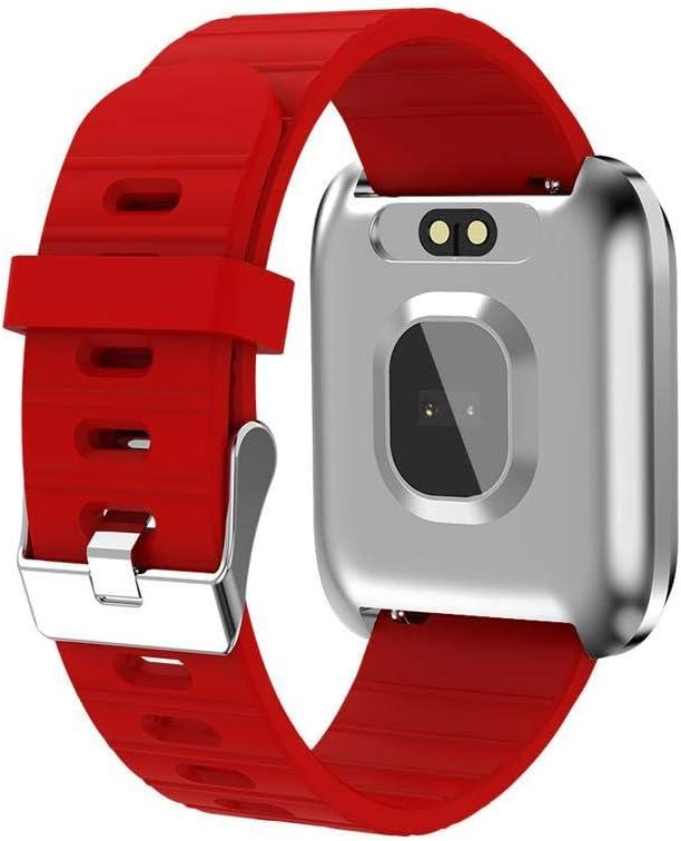 rastreador de Ejercicios con Monitor de Ritmo card/íaco Monitor de Actividad Monitor de Seguimiento de Deportes a Prueba de Agua IP67 Ritapreaty Men Smart Watch