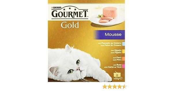 Gourmet - Alimento para Gato - Húmedo - Gold Mousse Pack Surtido ...
