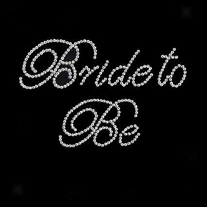 a0f8ad01ca Amazon.com: Bride Mother Bridesmaid Rhinestone Sticker Motif ...