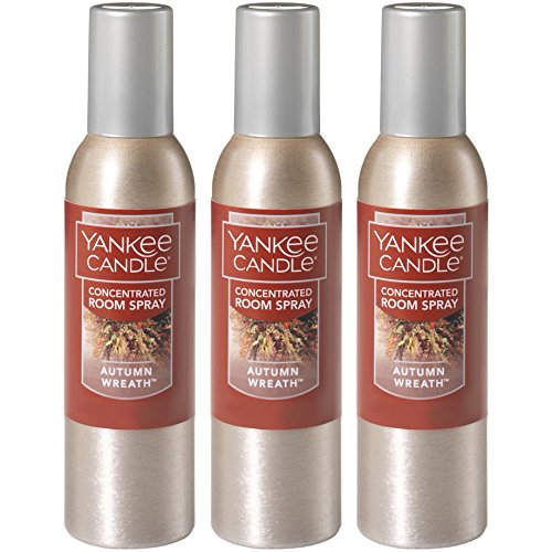 Yankee Candle Concentrated Room Spray 3-PACK (Autumn Wreath)