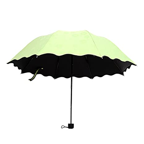 ToxTech Lucha contra el sol paraguas, mini portátil de bolsillo de protección solar del paraguas