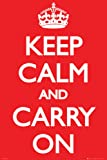 Keep Calm and Carry On Poster Print, 24x36 Poster Print, 24x36