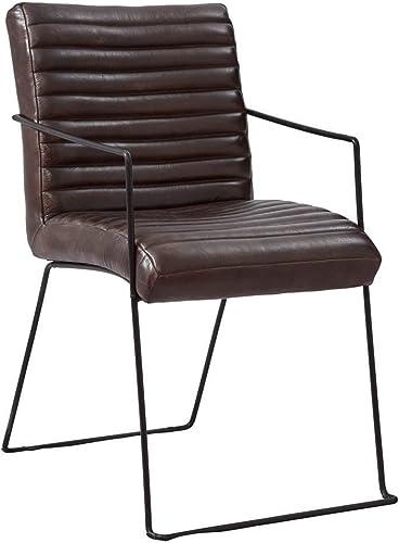 Jofran Nature s Edge Wyatt Dining Chair, 21 W 23 D X 35 H, Warm Brown Finish, Set of 2
