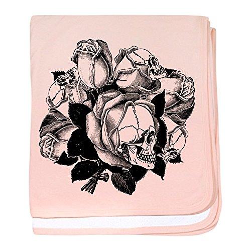 CafePress - Skull Roses - Baby Blanket, Super Soft Newborn Swaddle -
