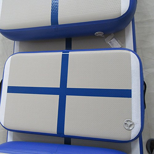 Inflatable Fitness Mat, Home Training Mat Roller Mat 6 Sets Mat for Gymnastics with Free Pump by Great river hill (Image #3)