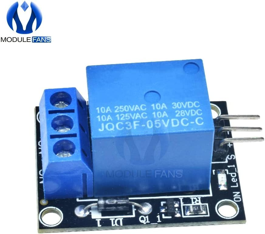 KY-019 DC 5V 1CH One 1 Channel Relay Module Board Shield For PIC AVR DSP ARM for Arduino Diy Kit Electronic Carvicto