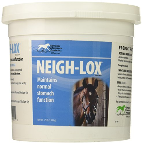 Kentucky Performance Neigh-Lox Digestive Supplement for Horses, 3.5 Pound Container
