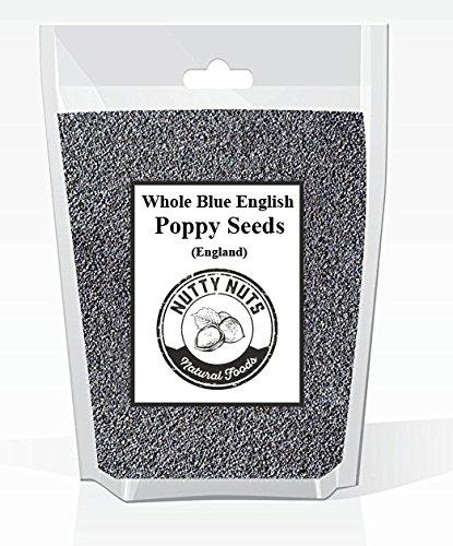 Whole Blue English Poppy Seeds (England) 5 Lbs. Bag